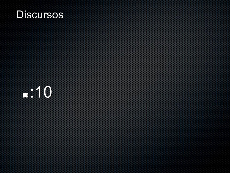 Discursos :10
