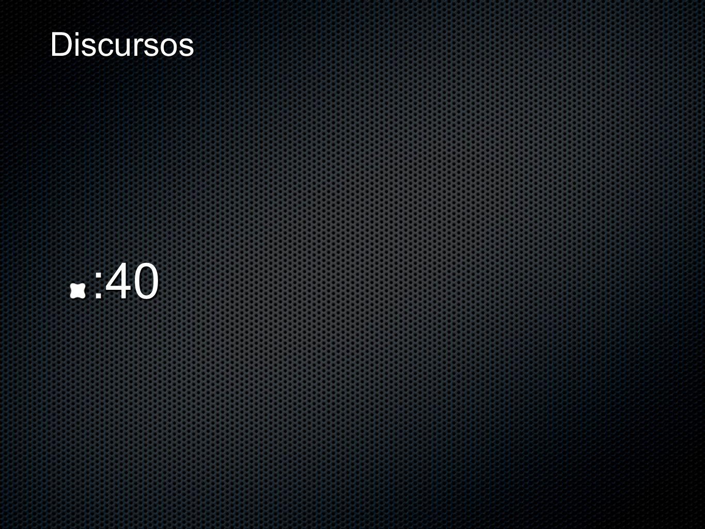 Discursos :40