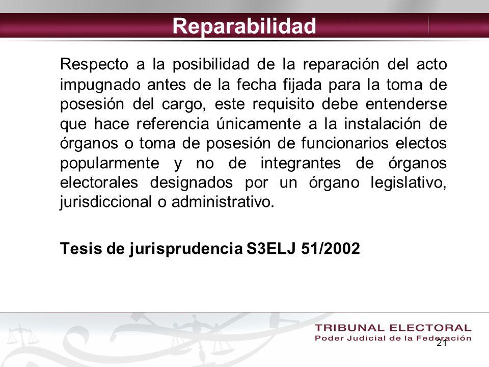 Reparabilidad