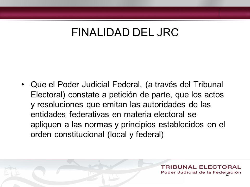 FINALIDAD DEL JRC