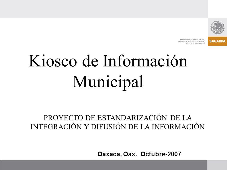 Kiosco de Información Municipal