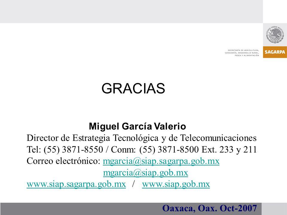 GRACIAS Miguel García Valerio