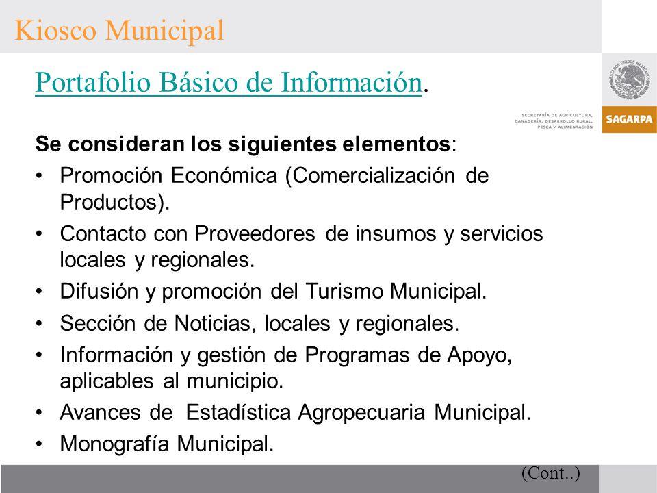 Portafolio Básico de Información.