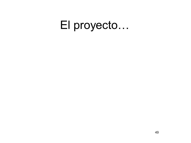 El proyecto… 49