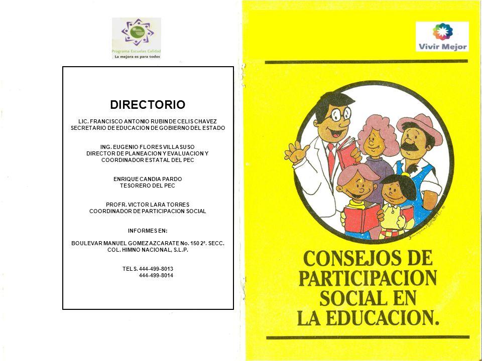 DIRECTORIO LIC. FRANCISCO ANTONIO RUBIN DE CELIS CHAVEZ