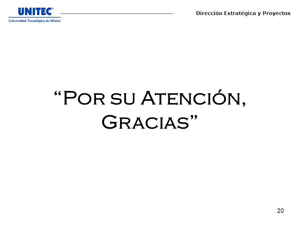 Por su Atención, Gracias