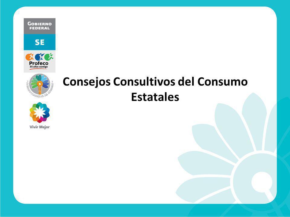Consejos Consultivos del Consumo Estatales