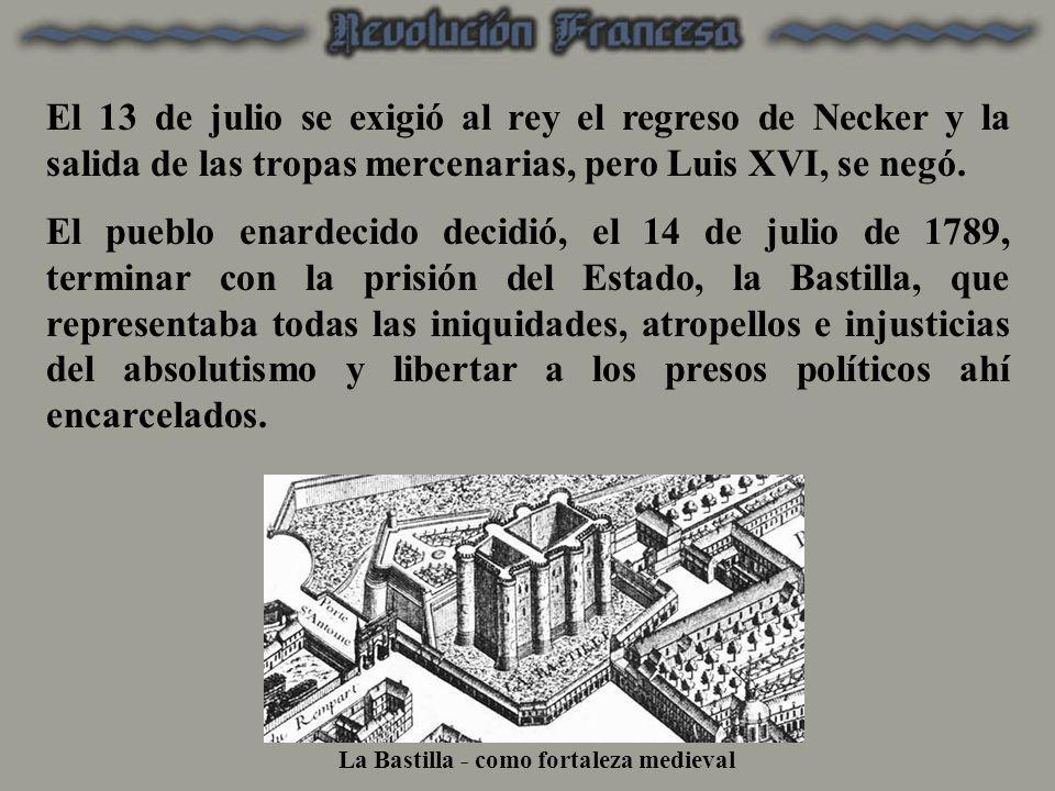 La Bastilla - como fortaleza medieval