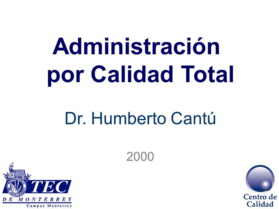 Administración por Calidad Total