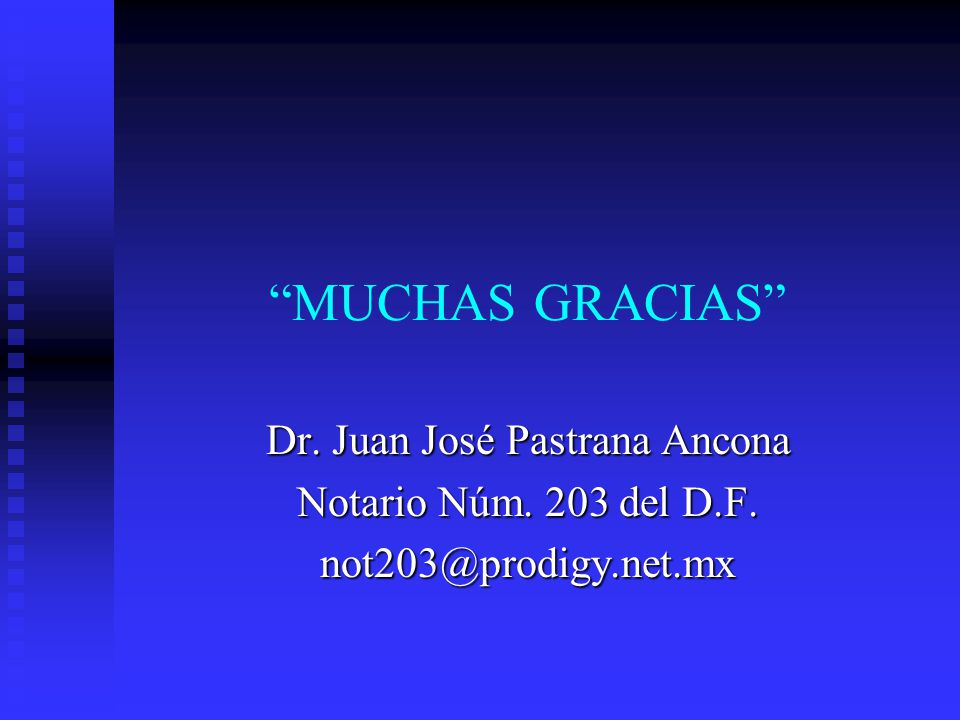 Dr. Juan José Pastrana Ancona