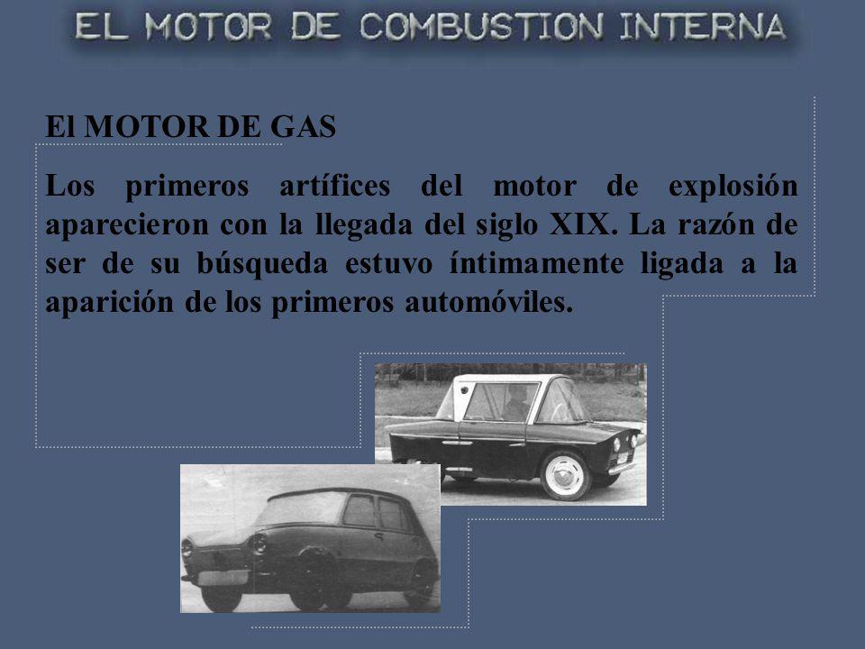 El MOTOR DE GAS