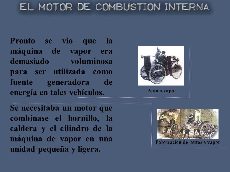 Fabricacion de autos a vapor