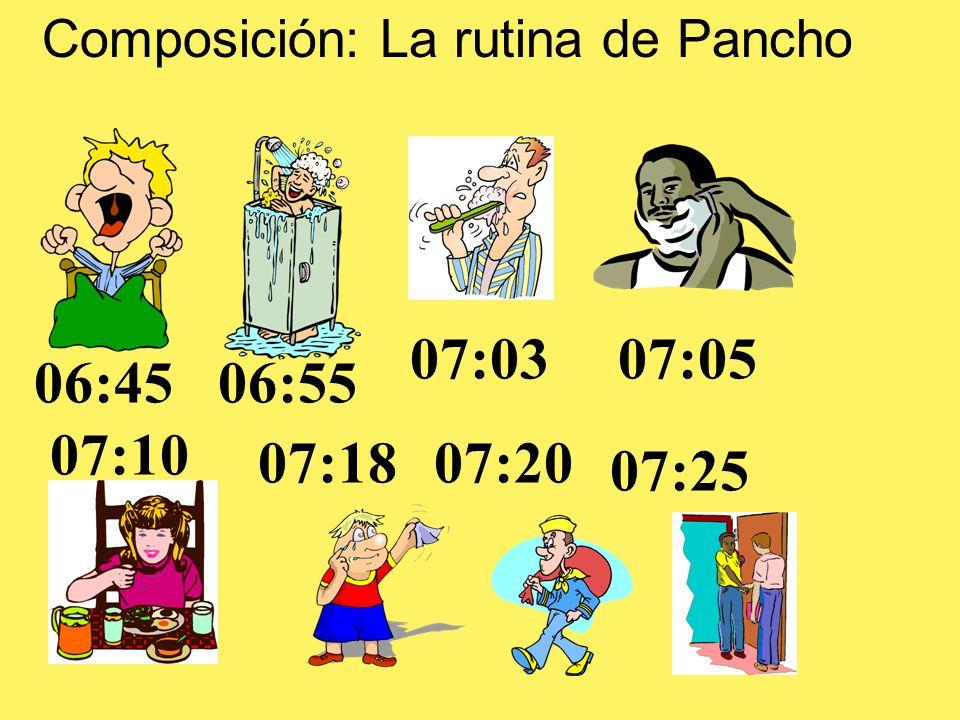 Composición: La rutina de Pancho