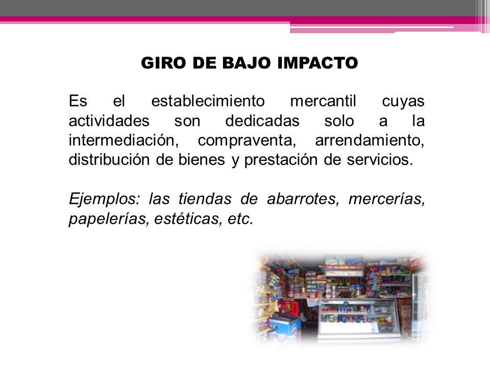 GIRO DE BAJO IMPACTO