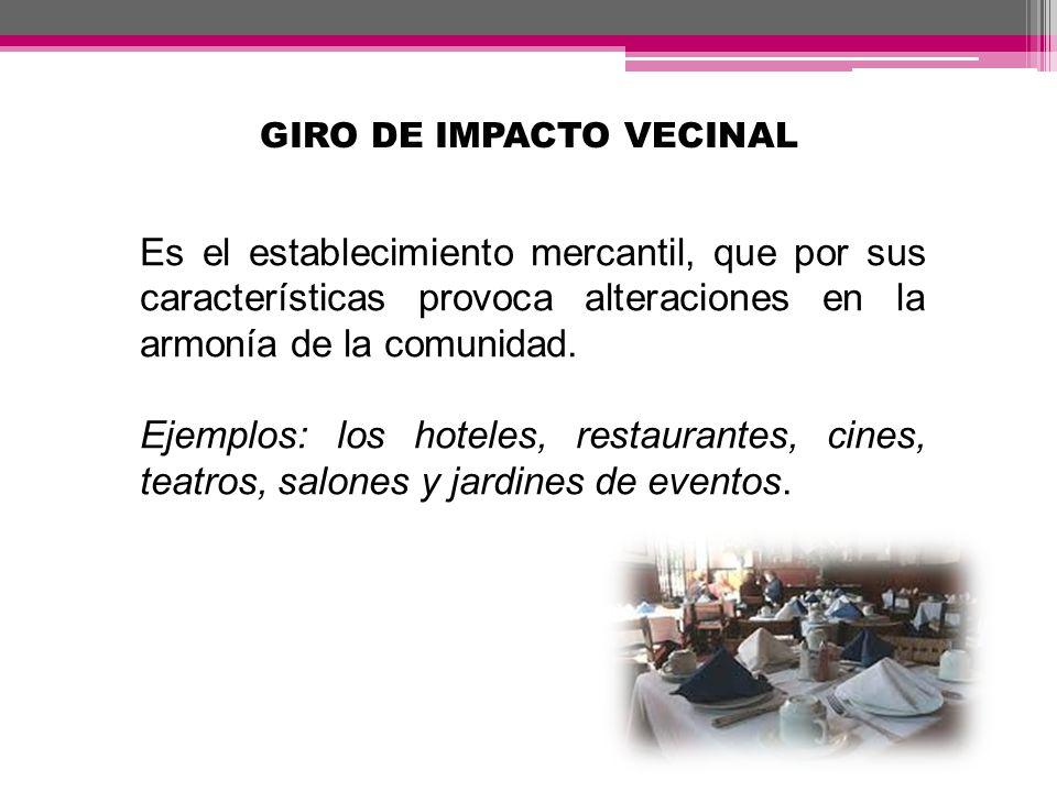 GIRO DE IMPACTO VECINAL