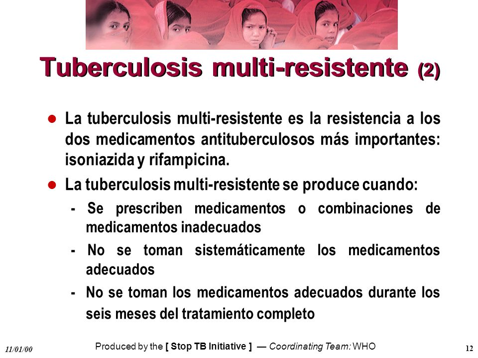 Tuberculosis multi-resistente (2)
