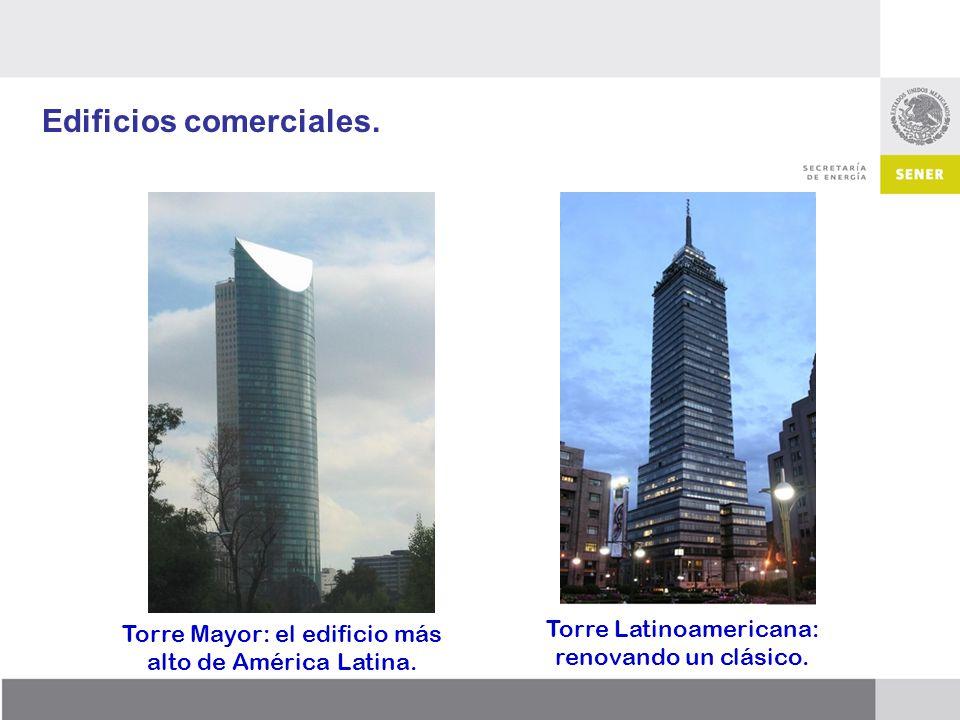 Edificios comerciales.