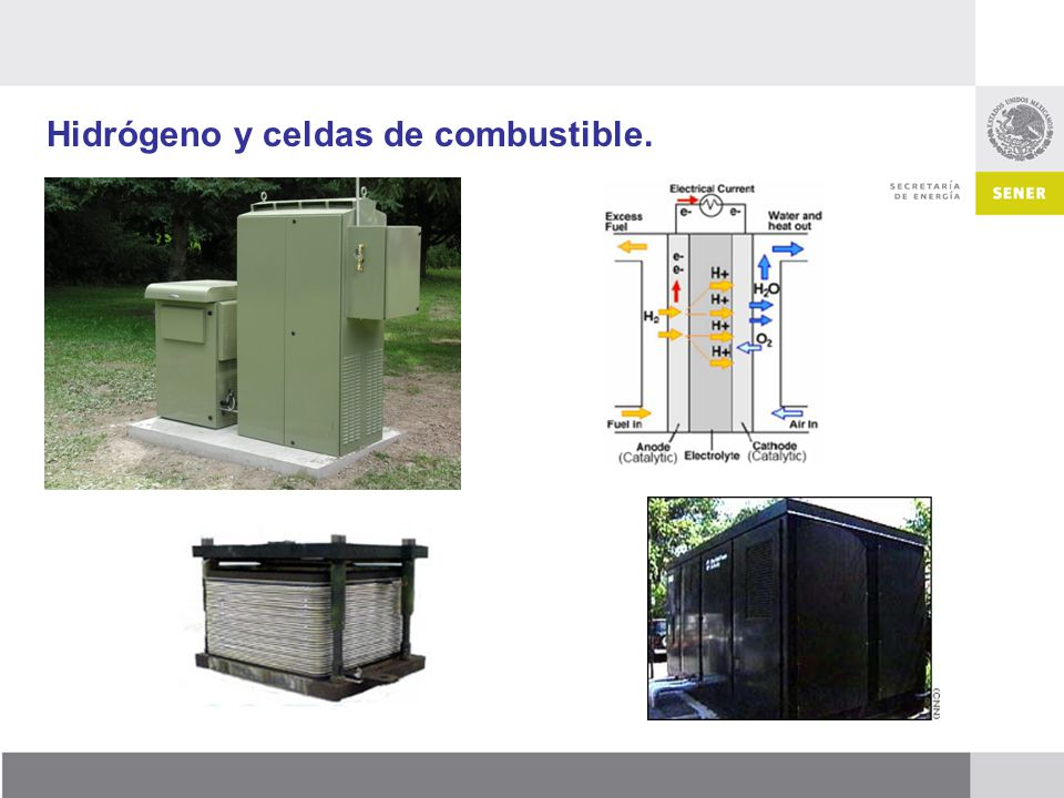 Hidrógeno y celdas de combustible.