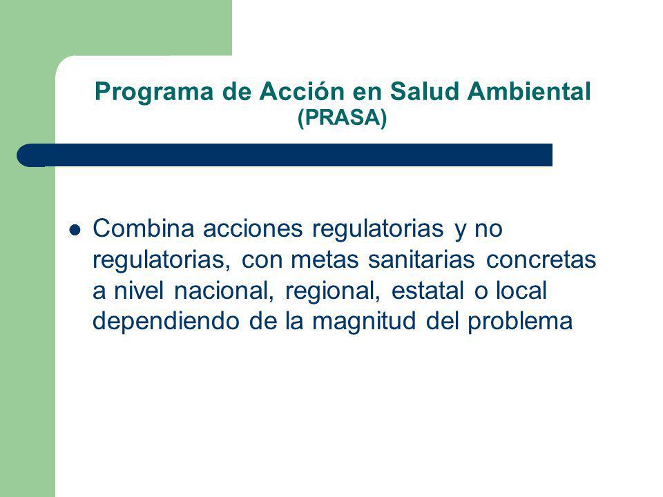 Programa de Acción en Salud Ambiental (PRASA)