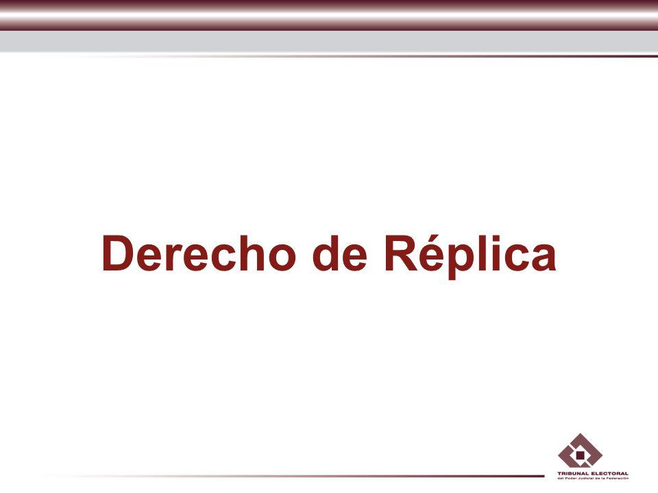 Derecho de Réplica