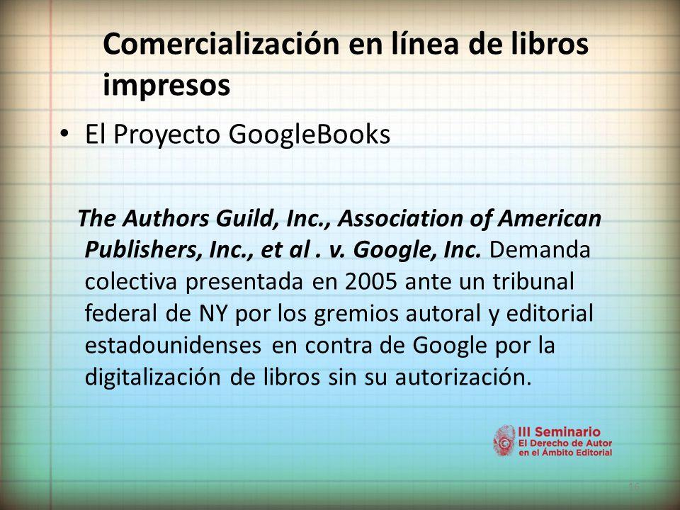 Comercialización en línea de libros impresos