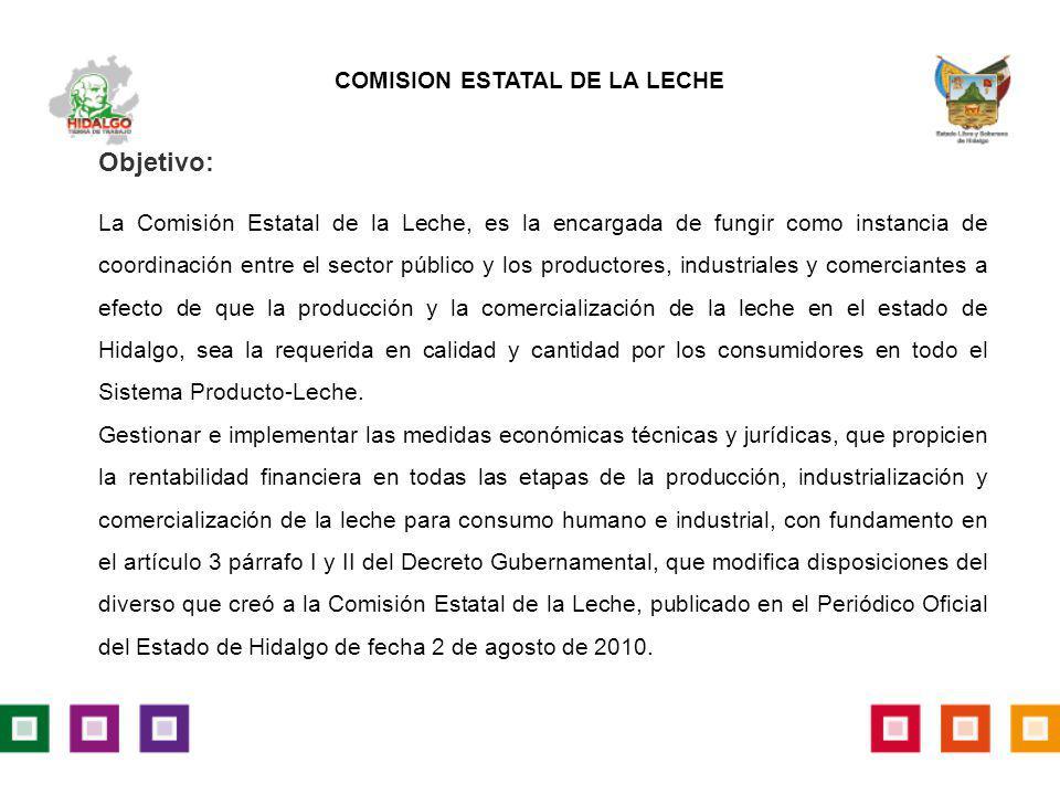 COMISION ESTATAL DE LA LECHE