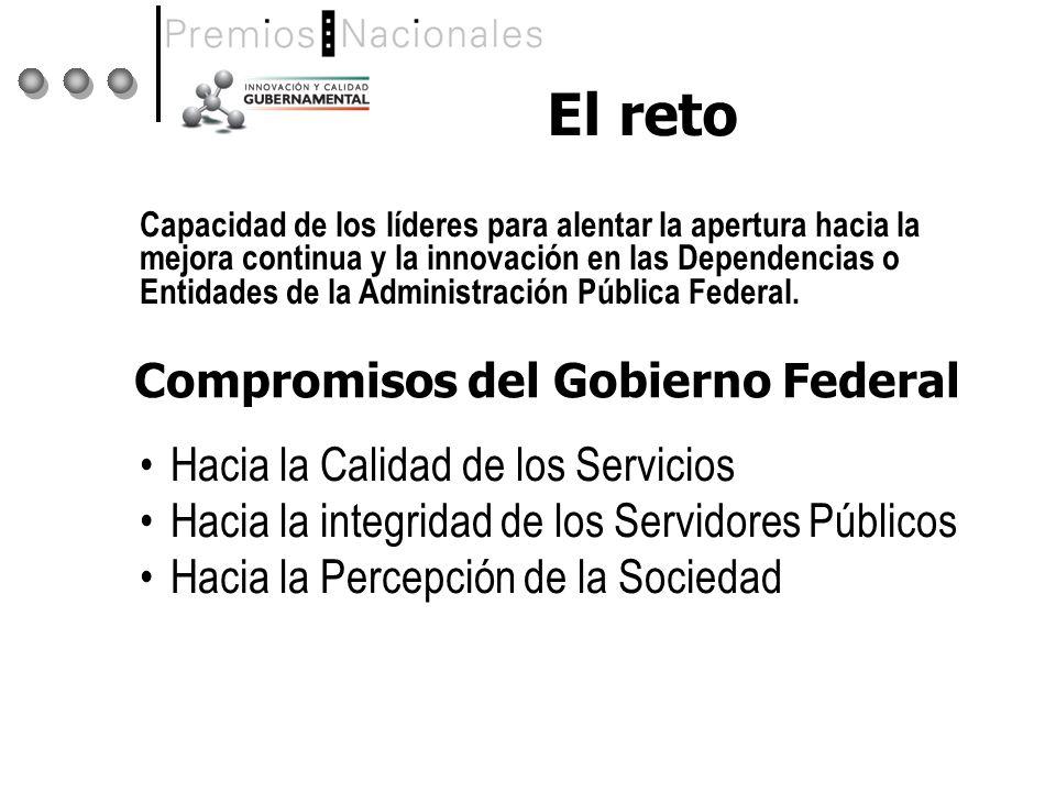 Compromisos del Gobierno Federal