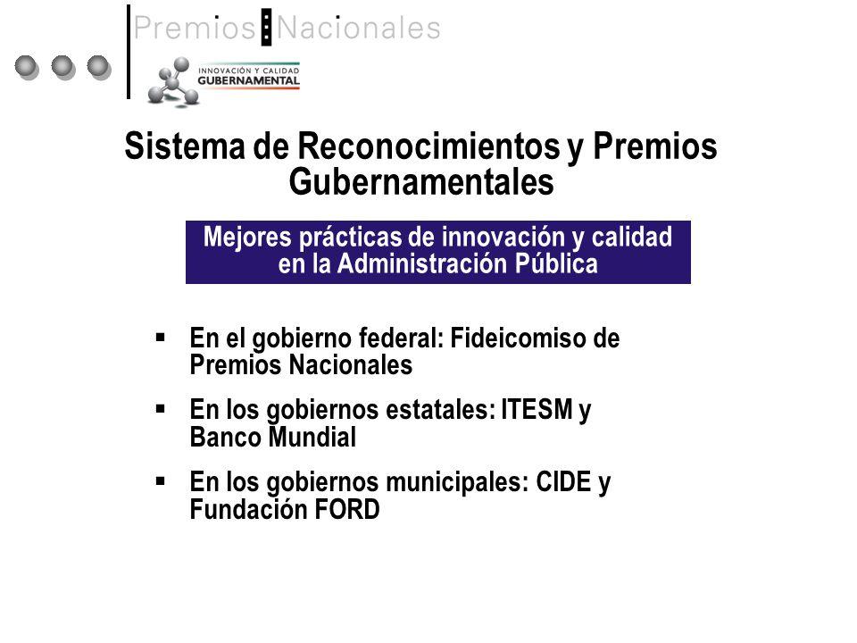Sistema de Reconocimientos y Premios Gubernamentales