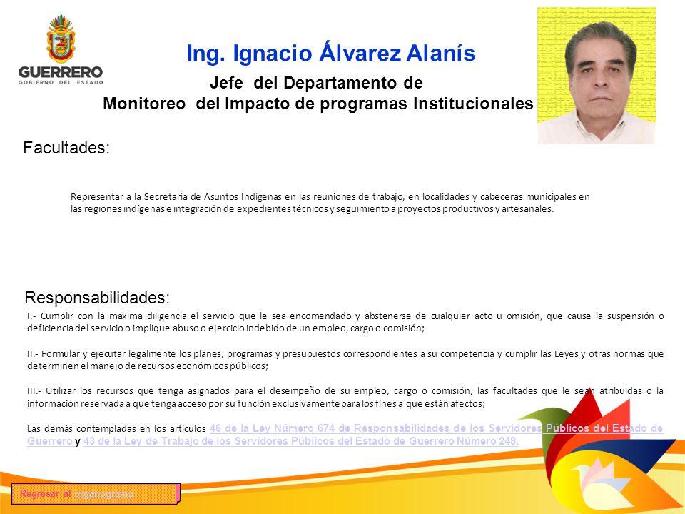 Ing. Ignacio Álvarez Alanís
