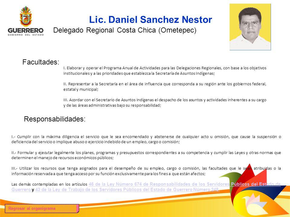 Lic. Daniel Sanchez Nestor