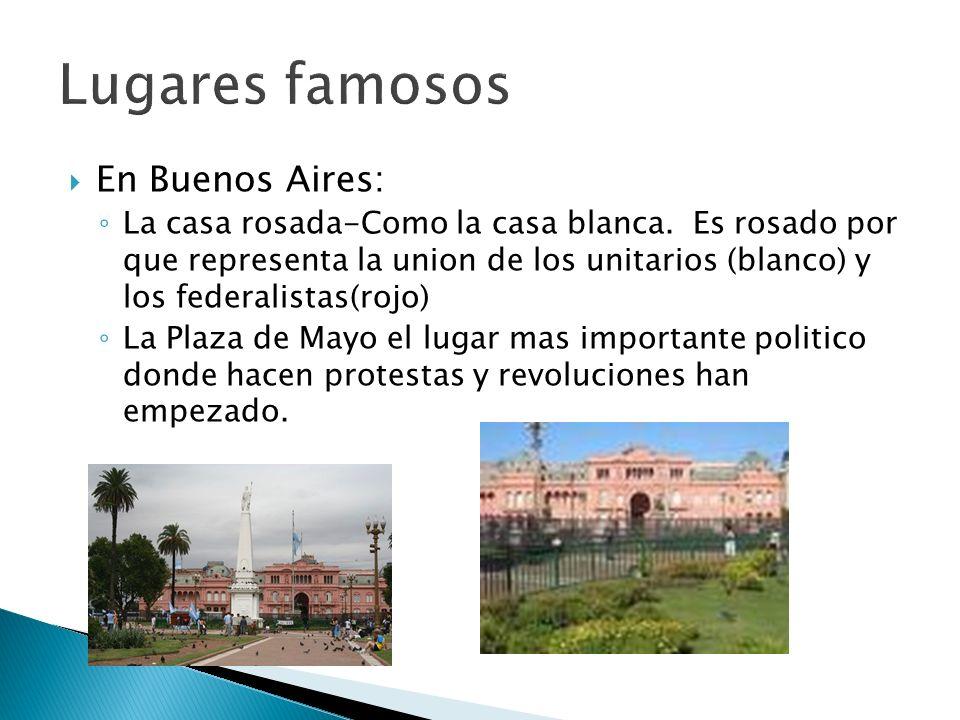 Lugares famosos En Buenos Aires: