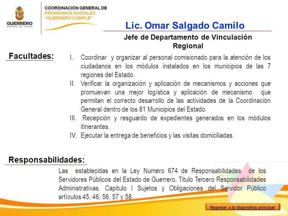 Lic. Omar Salgado Camilo