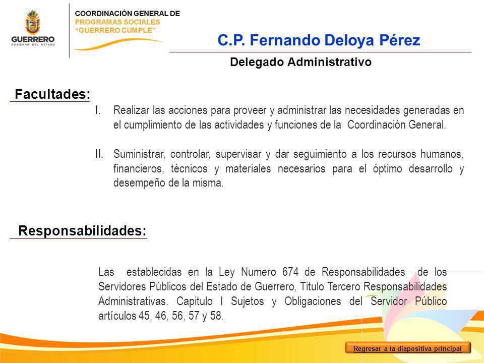 C.P. Fernando Deloya Pérez