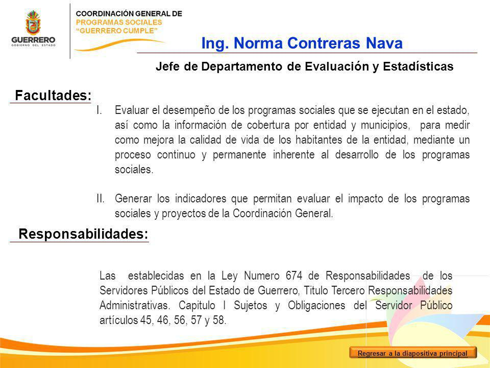 Ing. Norma Contreras Nava