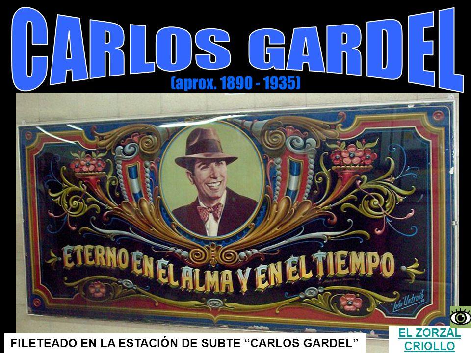 FILETEADO EN LA ESTACIÓN DE SUBTE CARLOS GARDEL