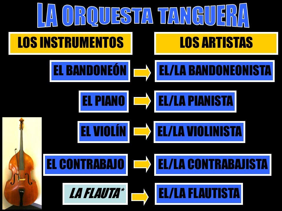 LOS INSTRUMENTOS LOS ARTISTAS EL BANDONEÓN EL/LA BANDONEONISTA