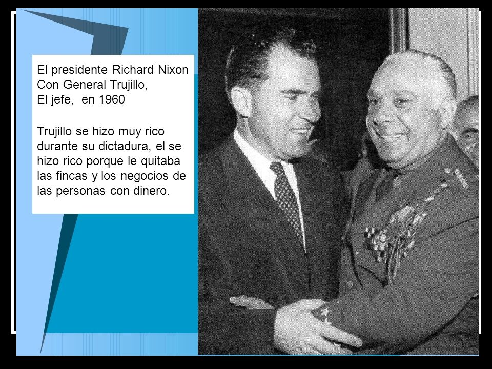 El presidente Richard Nixon