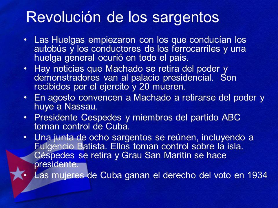 Revolución de los sargentos