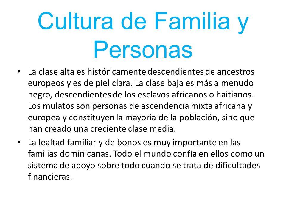 Cultura de Familia y Personas
