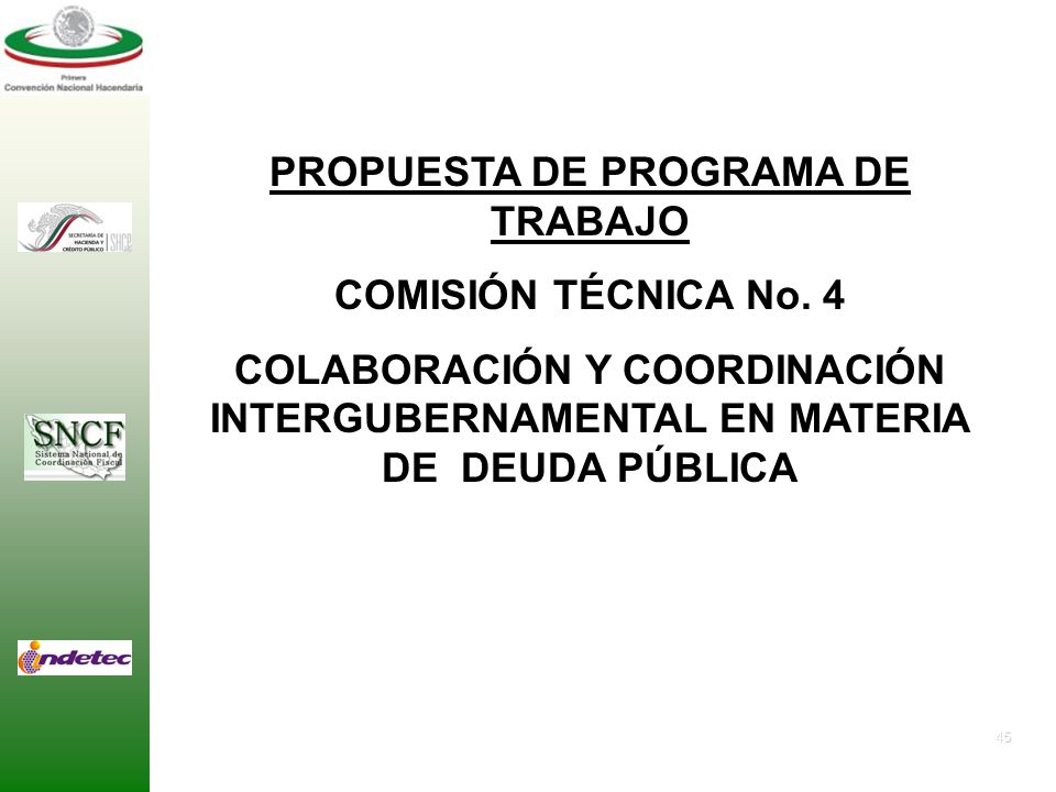 PROPUESTA DE PROGRAMA DE TRABAJO