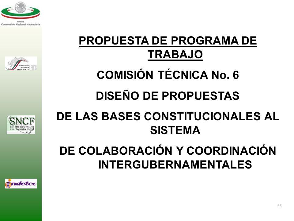 DE COLABORACIÓN Y COORDINACIÓN INTERGUBERNAMENTALES