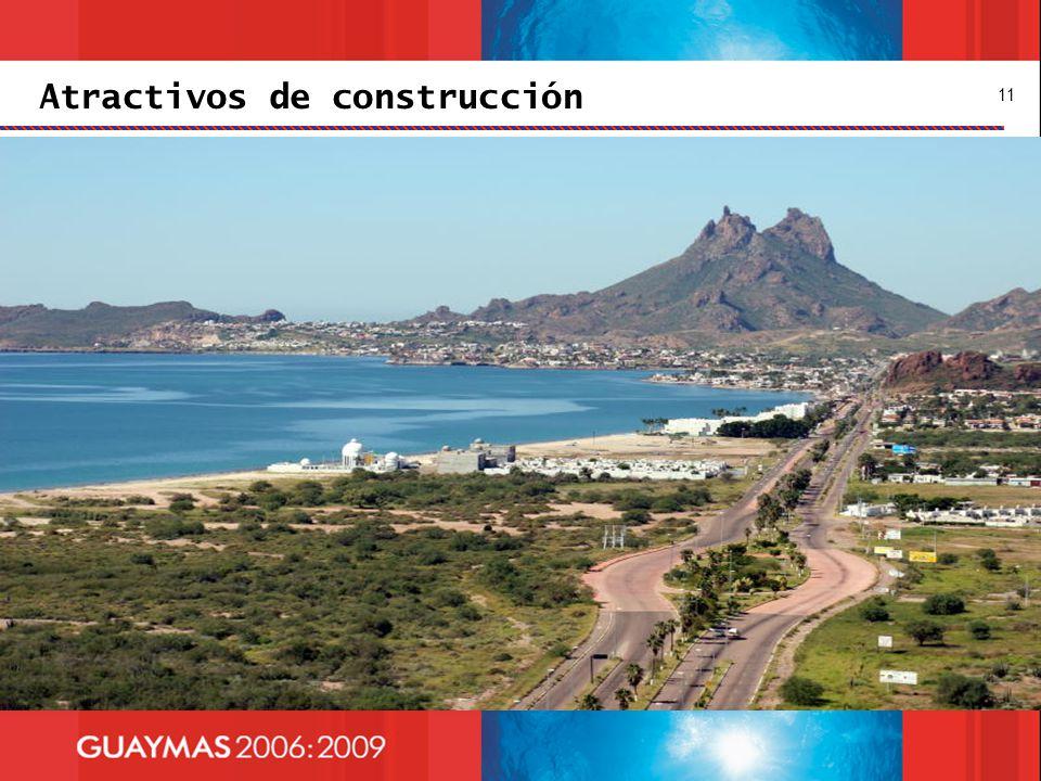 Atractivos de construcción