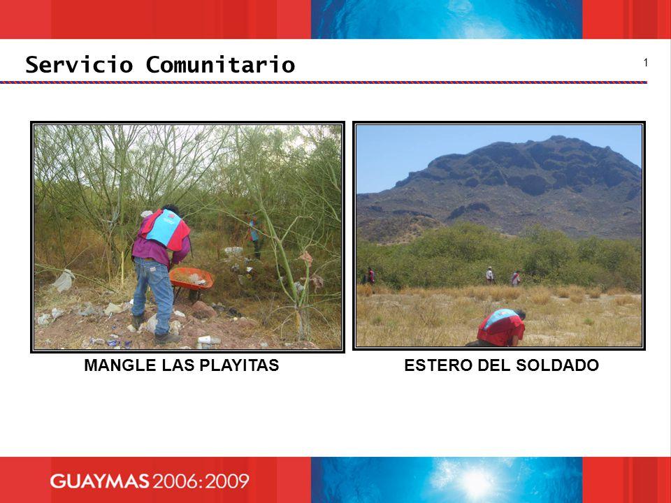 Servicio Comunitario 1 MANGLE LAS PLAYITAS ESTERO DEL SOLDADO