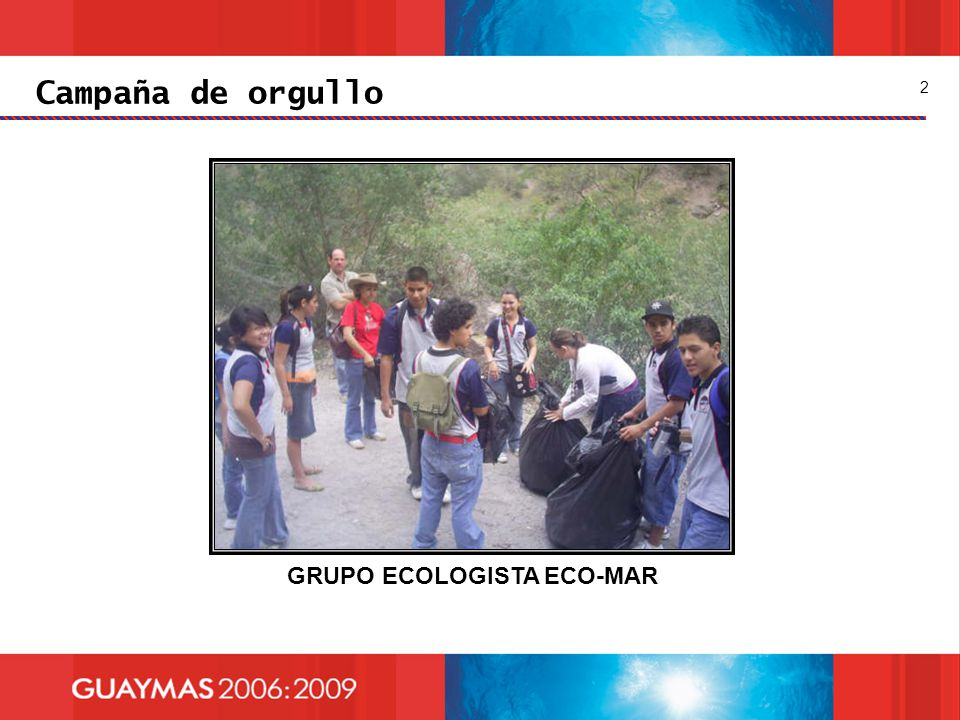 GRUPO ECOLOGISTA ECO-MAR