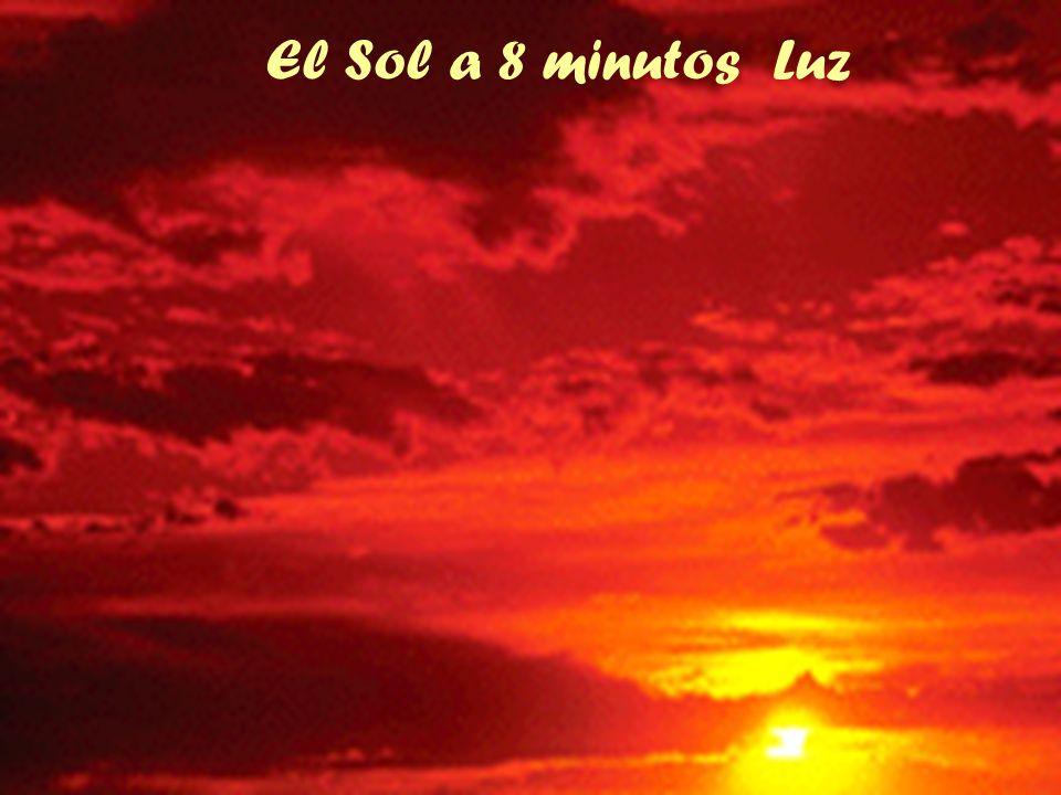 El Sol a 8 minutos Luz
