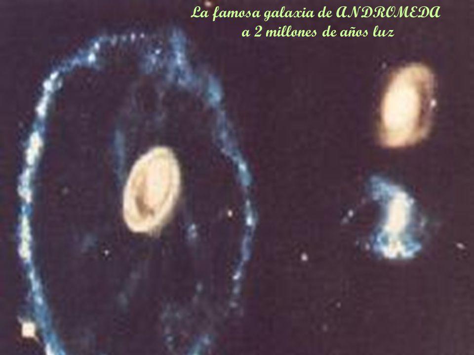 La famosa galaxia de ANDROMEDA