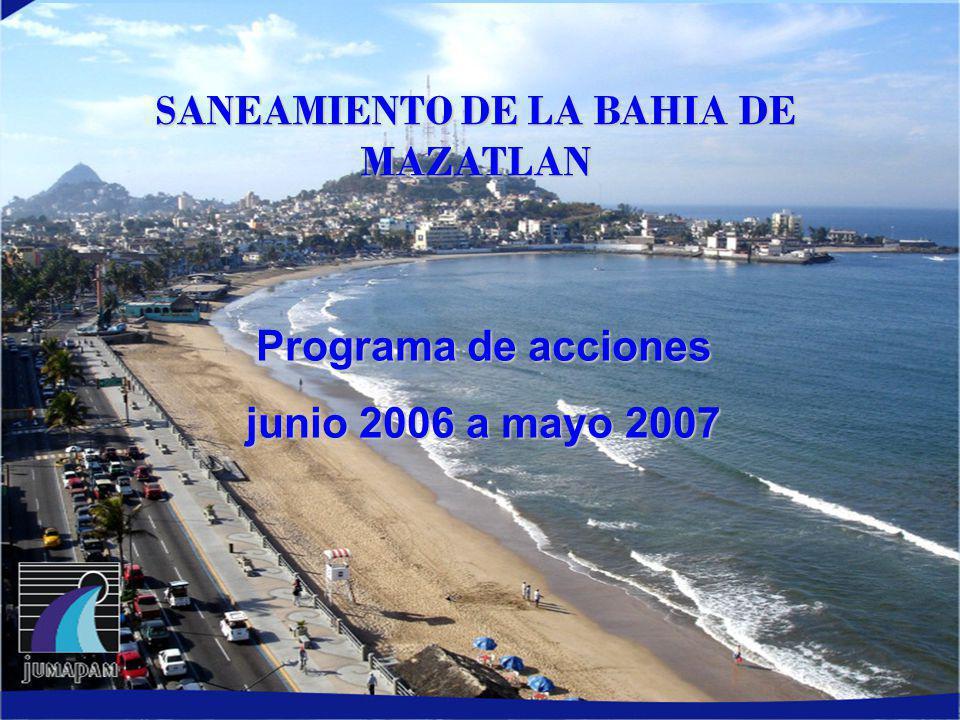 SANEAMIENTO DE LA BAHIA DE MAZATLAN
