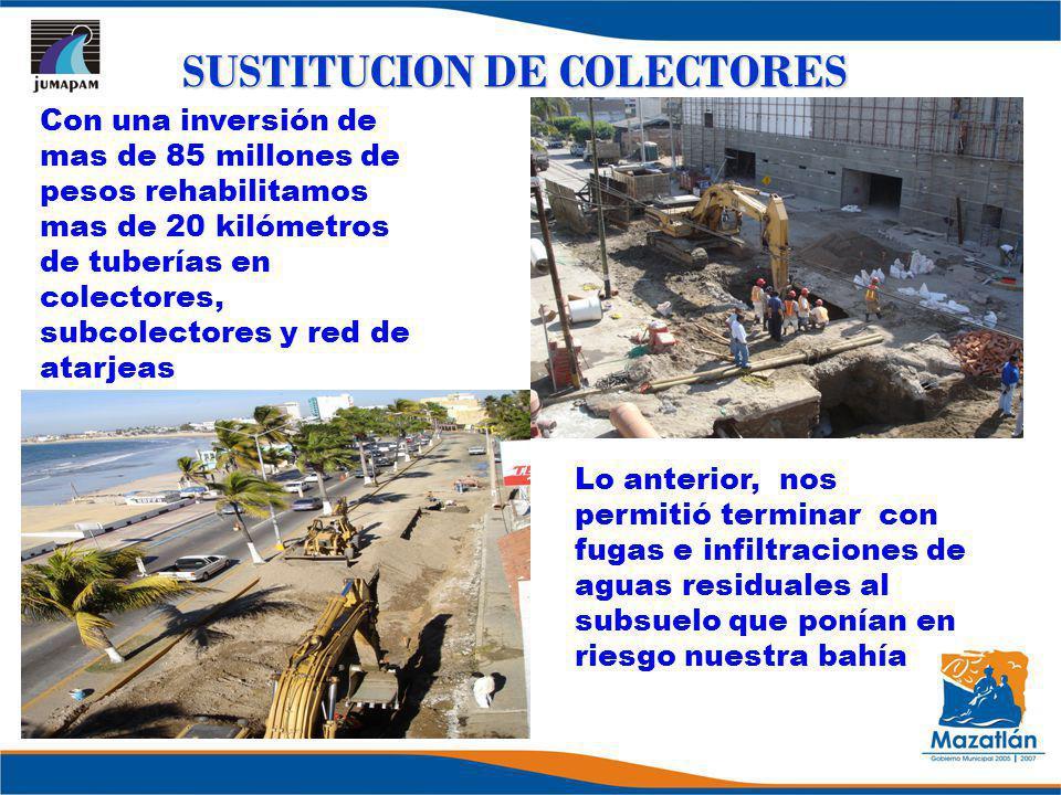 SUSTITUCION DE COLECTORES