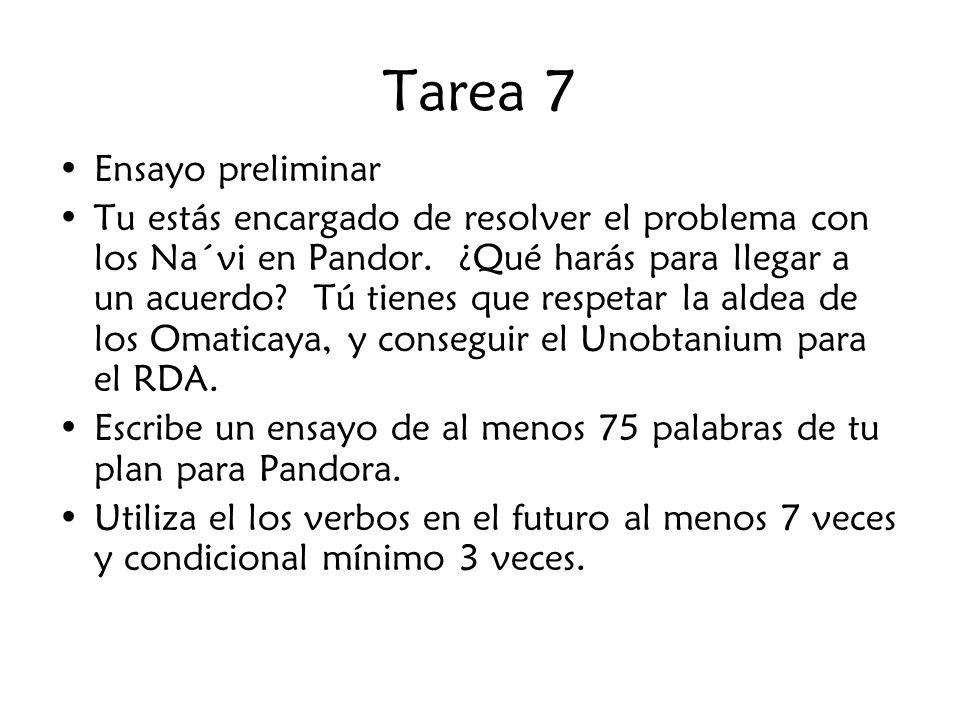 Tarea 7 Ensayo preliminar