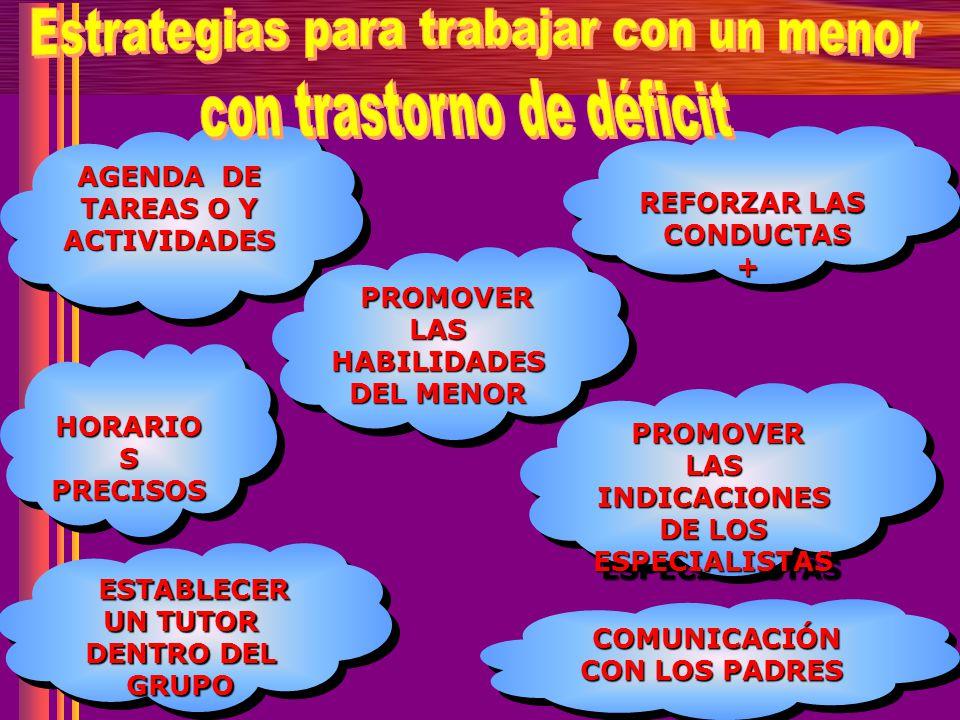PROMOVER LAS HABILIDADES INDICACIONES DE LOS ESPECIALISTAS